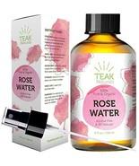 Rose Water Toner by Teak Naturals, 100% Organic Natural Moroccan Rosewat... - $20.03