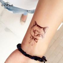 Gam-Belle® Waterproof Cats Owls Temporary Tattoos Stickers Creative Cartoon Cute - $2.66