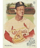 2019 Topps Allen and Ginter #64 Stan Musial  - $0.50