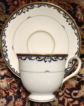 Lenox Royal Scroll Blue Cup and Saucer (Multiple Available) Dishwasher SafeUSA - $16.45