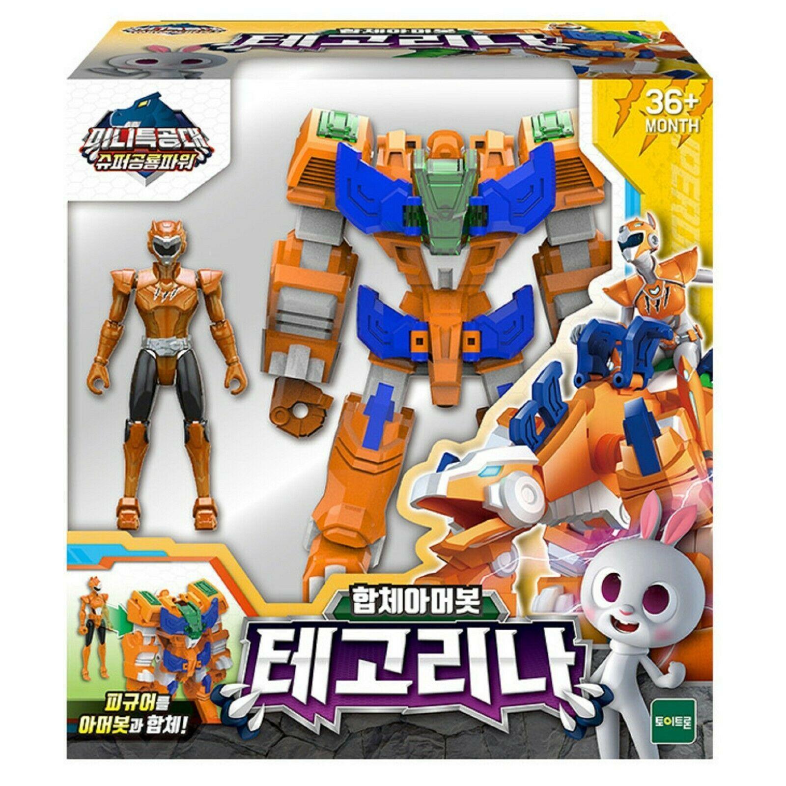 Miniforce Tego Lina Transformation Action Figure Super Dinosaur Power Part 2 Toy