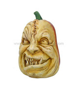 PTC Pacific Giftware Evil Stitched Up Pumpkin Head Resin Cast Figurine - $19.79