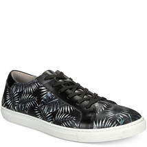 Kenneth Cole New York Mens Kam Palm Leaf Sneakers Black 8 M MSRP 125 New - $86.02