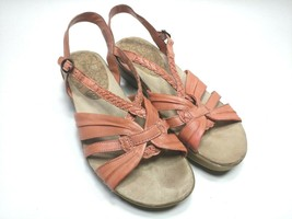 Bare Traps Jacee Womens Size 8.5M Coral Slide Open Toe Fisherman Buckle ... - $32.71