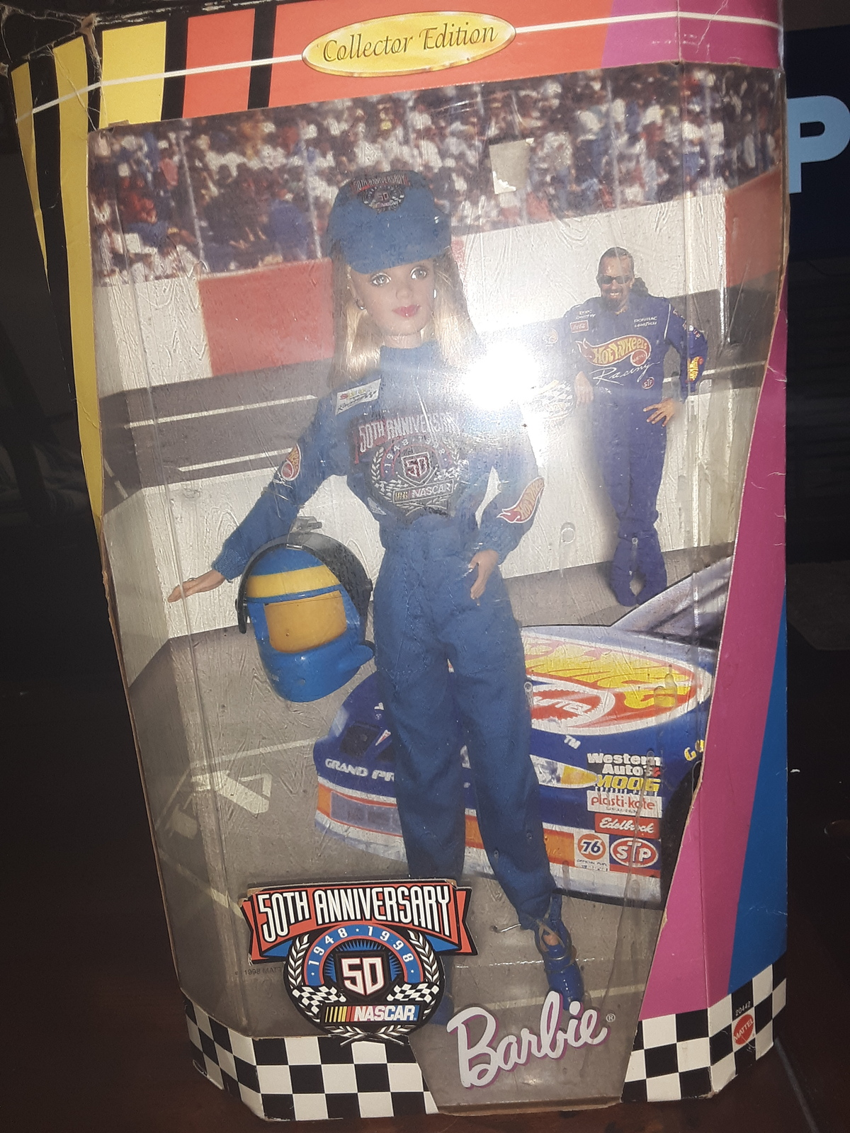 "Primary image for Collector Edition ""50th Anniversary NASCAR"" Barbie Doll"