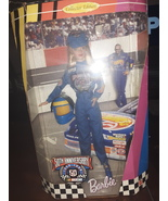 "Collector Edition ""50th Anniversary NASCAR"" Barbie Doll  - $110.00"
