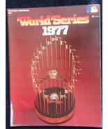 1977 World Series Official Program-N.Y. Yankees vs. L.A. Dodgers-Reggie ... - $16.95