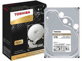 "Details about  TOSHIBA N300 4TB 3.5"" NAS SATA HARD DRIVE 7200RPM : HDWQ... - $70.00"