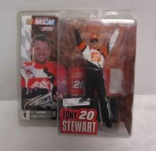Action McFarlane NASCAR Tony Stewart Figurine New in Box Series 1 - $14.46