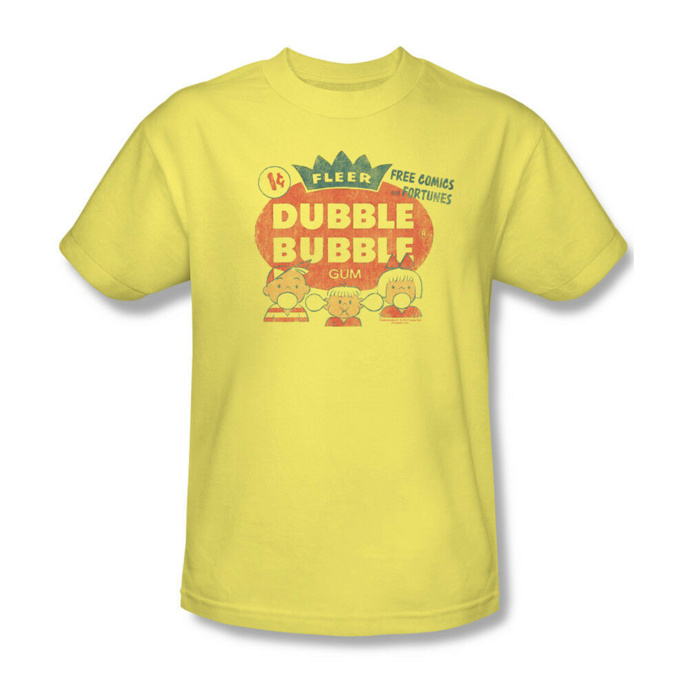 Dubble Bubble T-shirt retro 1980's candy gum 100% cotton graphic tee  DBL10