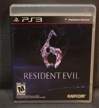 Resident Evil 6 (Sony PlayStation 3, 2012) PS3 Video Game - $7.92