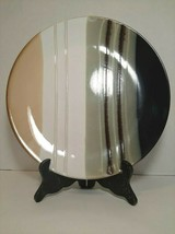 """Home Trends Jazz  Dinner Plate Approx 10.5"""" wide - $10.44"""