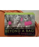 Beyond a Bag 3 Bags in One Backpack, Sling and Duffel Bag NWT - $28.99