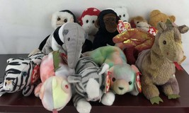 Lot Of 12 Ty Beanie Baby - $28.05