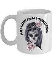 Halloween Princess Gifts For Girls Creative White Ceramic Coffee Mug - $19.75