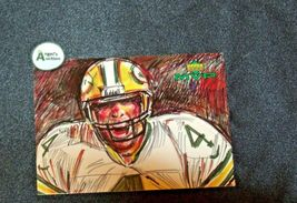 Brett Farve # 4 Green Bay Packers QB Football Trading Cards AA-19 FTC3002 Vintag image 4