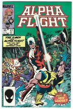 Alpha Flight #17 NM X-Men Chris Claremont John Byrne Terry Austin - Marv... - $8.95