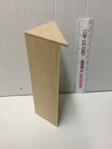 Miniature 5 Shelf Corner BOOKCASE UNIT Dollhouse Furniture Scale 1:12 / unfinish image 3