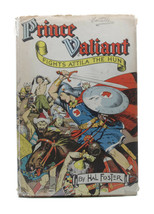 Vintage 1950s Hal Foster Prince Valiant Fights Attila The Hun Hardcover ... - $32.73