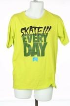 Nike Skate Every Day Tshirt Sz Extra Large XL Lime Green Skateboarding Y... - $34.48
