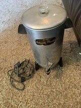 Vintage Electric Coffee Percolator / C-9292 / 22 Cup / With Cord / 1970  image 2