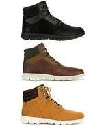 Timberland Men's Graydon Mid Lightweight Sneaker Chukka Boot Shoe Black ... - $118.89