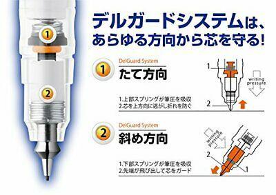 Zebra DelGuard 0.5mm Lead Mechanical Pencil, Pink Body (P-MA85-P) image 6