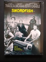 Swordfish DVD, 2001 Hugh Jackman, John Travolta, Halle Berry Like New Se... - $3.53