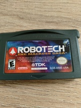 Nintendo Game Boy Advance GBA RoboTech: The Macross Saga image 2