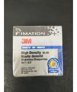Imation 3M Diskettes 1.44MB IBM Formatted 3.5 inch DS HD 10 Pack - Free ... - $14.01
