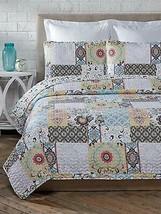 Cozy Line Home Fashions Size 3 Piece Moorea Cotton Quilt Set, King - $140.34+