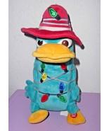 Disney Parks Phineas Ferb Agent P Christmas Lights Plush Stuffed Animal ... - $21.29