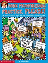 Funnybone Books: More Proofreading Practice, Please! Grade 3 Greenberg, Dan - $55.48