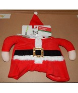 Christmas Dog Costume 3D Santa Claus Med To Large 20 To 35 Lbs 150W - $8.49