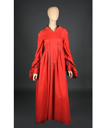 Princess Buttercup Red Dress Fire Swamp Dress Robin Wright in The Prince... - $129.00