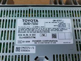Lexus HS250H Stereo Audio Radio PIONEER Amplifier 86280-75050 image 3