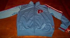 Vintage Philadelphia Phillies Mlb Stitched Jacket Small New w/ Tag - $84.15