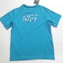 c6300f035e11 Nike Boys Woodland Camo Vapor Shirt - 789839 - Blue 407 - M - NWT -
