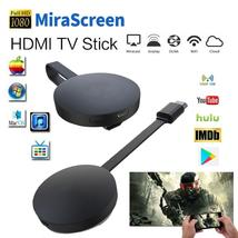 Android TV Stick MiraScreen WiFi Dongle Receiver Airplay Media Streamer ... - $24.20