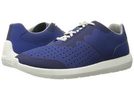 CLARKS Cloudsteppers Men's Torset Vibe Blue Laceup Canvas Sneaker Shoes - $44.99
