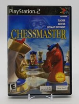 Chessmaster (Sony PlayStation 2, PS2 2003) Ubi Soft Complete in Box Black Label - $12.75