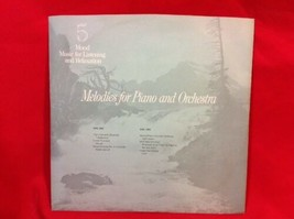 Reader's Digest Mood Music MELODIES FOR PIANO AND ORCHESTRA Record #5 LP... - £8.20 GBP