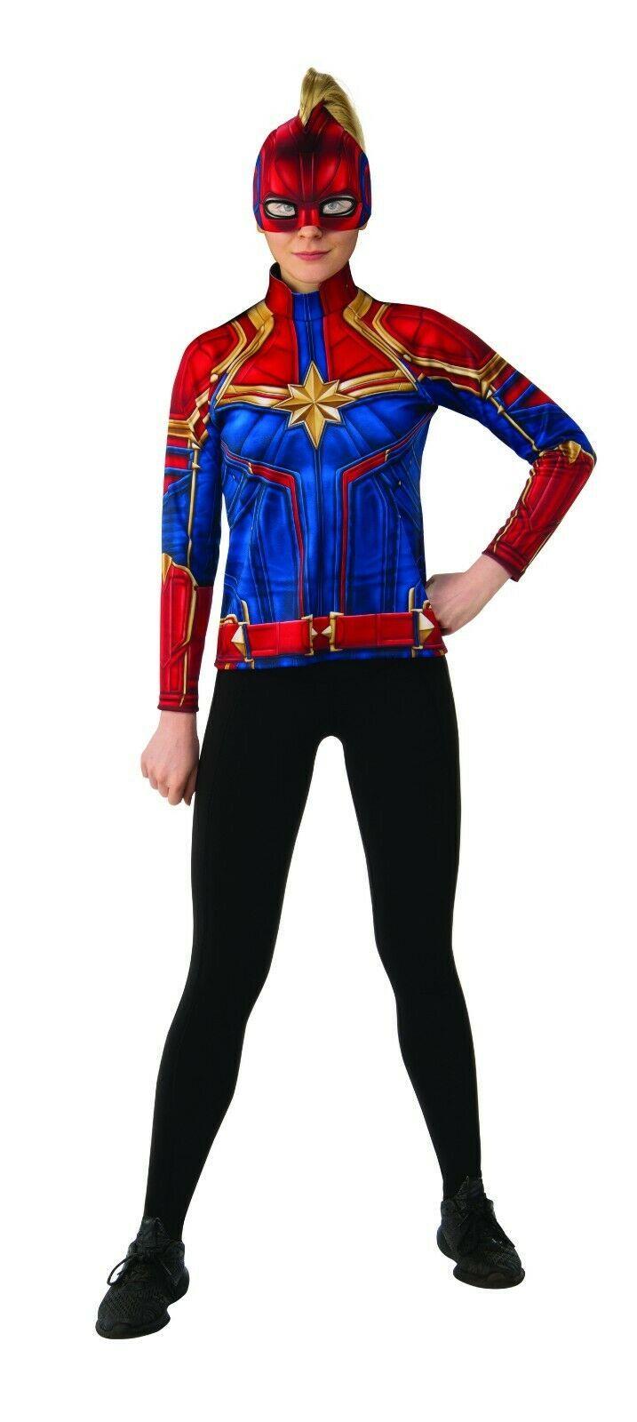 Rubies Captain Marvel Super Héros Suit Film Adulte Femmes Déguisement Halloween