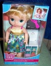 "Baby Alive Ready for School Doll 12.5""H New - $22.28"