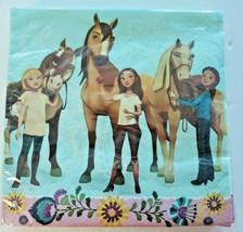 Spirit Riding Free Horse 16ct Napkins  NIP Birthday Party Pony New - $9.99