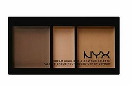 NYX CREAM HIGHLIGHT & CONTOUR PALETTE DEEP - $22.77