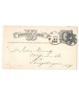UX5 New York 1876 Fancy Radial Spokes Gear n Circle Cancel Boerke Tafel ... - $37.50