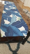 Table Runner Tommy Bahama Indoor Outdoor Swaying Palms Indigo Large Bana... - $20.00+