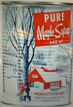 12 Cans Decacer Pure Maple Syrup Canada No.1 Medium Quebec 540ml / Each - $166.57