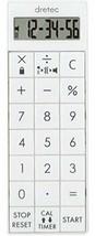 *dretec (Doritekku) Calculator timer computer Vibe magnet CL-124WT (white) - $17.44